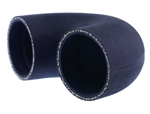 Hoses reinforced with aramid fabric